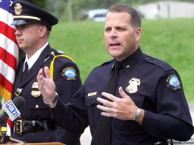 Duluth Police Chief Gordon Ramsay - photo credit to Duluth News Tribune