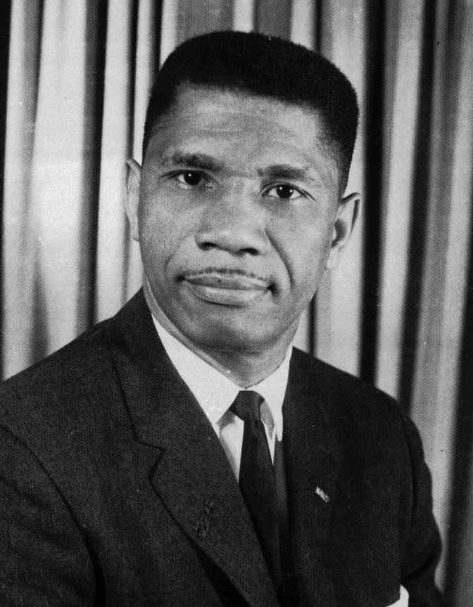FILE - In this 1963 file photo, Medgar Evers, 37, Mississippi field secretary for the National Association for the Advancement of Colored People is seen. He was shot outside his home after returning from an integration rally. (AP photo/file)